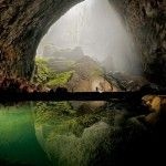 A massive cave in a remote area of Vietnamese jungle was recently uncovered, and deemed the largest single cavernous passage ever found according to geographical surveys.  At a gaping 262-by-262 feet in most sections and 460-by-460 feet at its largest point, the Son Doong cave dwarfs the previous world-record holder for size, Deer Cave in the dense rainforests of Borneo.  Although Deer Cave reaches an impressive 300-by-300 feet at its largest point, it stretches for only about a mile…