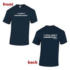 Sherlock Holmes - I Don't Understand, I still Don't Understand Sherlock Holmes T-shirt on Etsy, $15.38