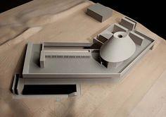 Model : Montauk House, Long Island NY (2009-13) | John Pawson with Bruce D. Nagel Architect