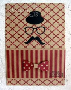 Margreet's scrapcards: Mannenkaart - Masculine card