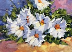 Tom Brown how 2 paint daisies