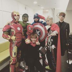 Esses heróis seriam meu sonho?