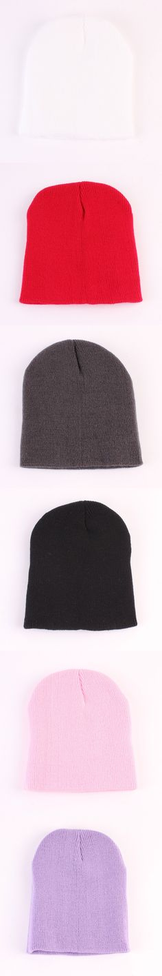 2016 Hot Sale Newborn Baby Hat Wool Knitting Hat Pure Color Joker Earmuffs Winter Unisex Warm 0-6M Caps H004-50