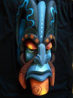 Boruca mask authentic indigenous mask directly from Boruca