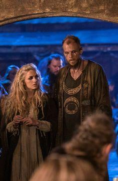 Helga & Floki, Vikings (Season 4 - 1st part) published by Blixtnatt