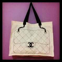 Eco Bag Chanel Inspired