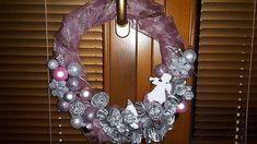 AKCIA Vianočný  veniec Ružový