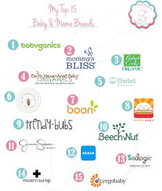 My Top 15 Baby & Mama Brands - including Earth Mama Angel Baby