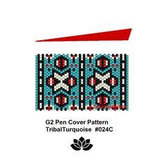 peyote patterninstant PDF-DownloadG2 pen pattern 024C G2