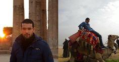 """Depois de viver um faraó em """"Os Dez Mandamentos"""", Sergio Marone está de volta ao Egito, agora de férias. O ator, que viveu Ramsés na história bíblica da Record, publicou alguns registros da viagem em seu perfil no Instagram. """"Um giro em Gizé, ao modo deles!"""", comentou ele"""
