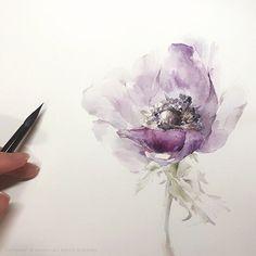 Watercolorist: @wishyu_____ #waterblog #акварель #aquarelle #drawing #art #artist #artwork #painting #illustration #watercolor #aquarela