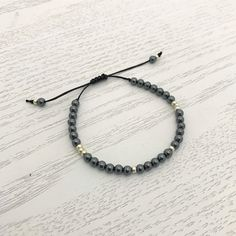 Hematite is the stone of the mind. It is great for tackling brain fog and improves mental clarity, concentration and focus. Brain Fog, Stone, Bracelets, Jewelry, Bangles, Jewellery Making, Arm Bracelets, Jewelery, Bracelet