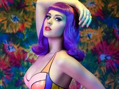 Katy Perry and the purple times