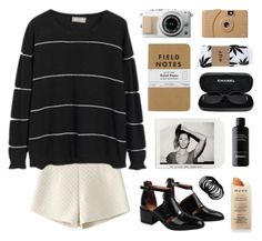 """bh 5"" by jesicacecillia ❤ liked on Polyvore featuring Chanel, Poketo, Martha Stewart, Jeffrey Campbell, HUF, BRAD Biophotonic Skin Care, women's clothing, women, female and woman"