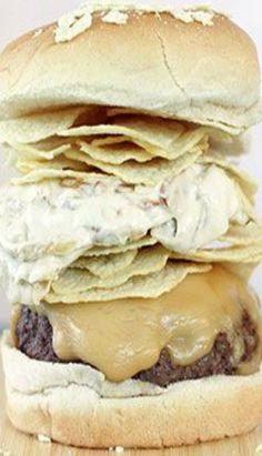 potato chip and onion dip burgers potato chip onion dip burgers more ...
