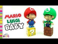 BABY Mario & Luigi Bros Polymer clay / Arcilla polimérica - YouTube