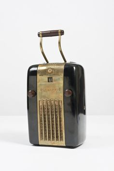 Anonymous; #H126 Portable Radio by Westinghouse, 1945.
