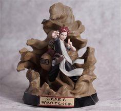Naruto Gaara Ninja Gaara Sand Coffin Kazekage Figure Statue Toy