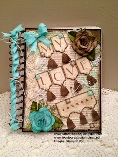 This & That Journal - My Love Journal  Based on 'The 5 Love Languages' by Gary Chapman. more on www.tammydowney.blogspot.com