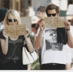 A Celebrity Couple Are Hounded By Paparazzi As They Walk Down The Street. Their Response Is Superb.