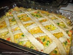 Family Style Chicken Pot Pie - perfect for a large family! (or large appetites!)