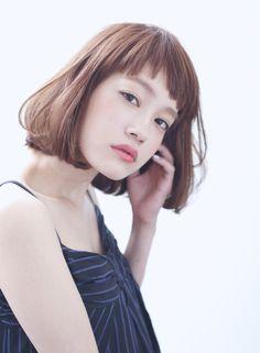 ショートバング×シンプルボブ 【Cura】 http://beautynavi.woman.excite.co.jp/salon/21053?pint ≪…