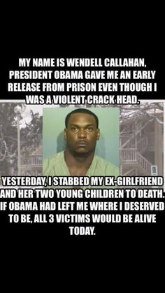 Obama's prisoner release plan includes releasing those at high-risk to commit more/worse crimes. This is what we have to look forward to.
