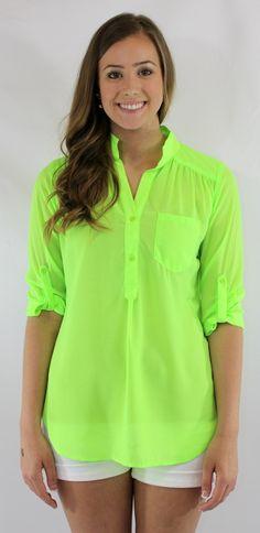 Kiki La'Rue - Neon Ready Top - Lime, $36.00 (http://www.kikilarue.com/neon-delight-top-lime/)
