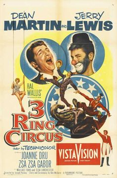 3 Ring Circus (Chinese) 11x17 Movie Poster (1954)