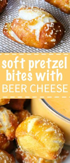 Pretzel Bites with Beer Cheese Dip Soft and chewy homemade pretzel bites that are salty and airy with a cheddar beer cheese dip.Soft and chewy homemade pretzel bites that are salty and airy with a cheddar beer cheese dip. Appetizer Recipes, Snack Recipes, Cooking Recipes, Snacks, Healthy Appetizers, Bread Recipes, Delicious Appetizers, Smoker Recipes, Coffee Recipes
