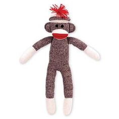 Inspiring comforting hugs and imaginative play, this lovable toy has been delighting children for decades! Moms crafted the original sock monkeys from red-heeled work socks, and our nostalgic replica is just as cute—soft and simple, with signature red lips and bright tassel.