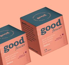 goodbrands is the official cannabis for good times and all natural living. Craft Packaging, Flower Packaging, Bottle Packaging, Pretty Packaging, Cosmetic Packaging, Label Design, Box Design, Branding Design, Packaging