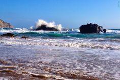 Aguas Blancas, Ibiza. Fav beach, sadly cannot reach it with the veedub!