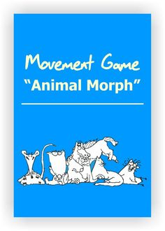 FREE DRAMA GAME~Animal Morph~ Invite students to think of an animal. Ask them to picture it clearly, paying attention to how it moves and sounds. Next, invite students to mill about the room and to gradually transform into that animal. The key is to coach students into changing animals very slowly. After all students have transformed into animals, ask them to reverse the process, gradually turning back into human beings. --For more drama activities, visit www.dramanotebook.com