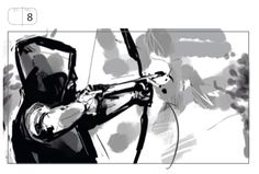 "Arrow 2x15 ""The Promise"" storyboard glimpse"