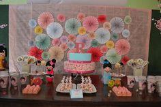 Kokeshi Doll Birthday Party #kokeshi #party