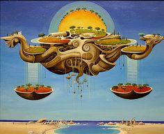 """Vasko Taskovski, Surreal Zodiac Art  """"Libra"""""""