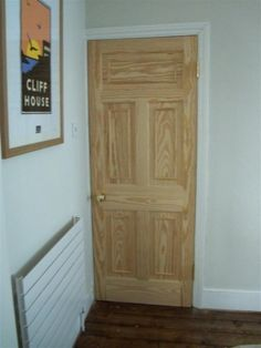 Stained wood bespoke Victorian/Edwardian internal door