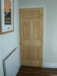 Stained wood bespoke Victorian/Edwardian internal door