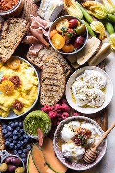 Brunch Bruschetta Bar | halfbakedharvest.com @hbharvest