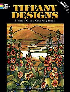 Tiffany Designs Stained Glass Coloring Book von A. G. Smith http://www.amazon.de/dp/048626792X/ref=cm_sw_r_pi_dp_ucofxb0W6RW6T