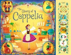 The story of Coppelia with sounds.