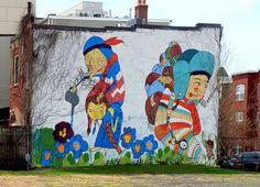 kelly towles street art washington