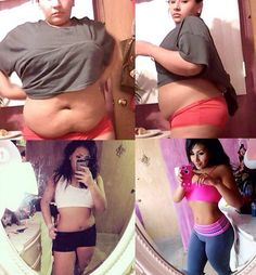 Before and after, fit body See how to suppress apetite and burn unwanted fats naturally.