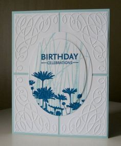 CAS161 Birthday Blues by nines - Cards and Paper Crafts at Splitcoaststampers