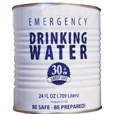 Canned Drinking Water