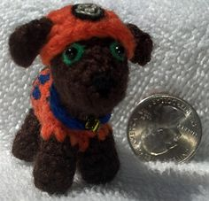 Pocket Puppy by Melissa's Crochet Patterns. free pddf 11/15