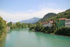 Füssen and the River Lech ~ Germany