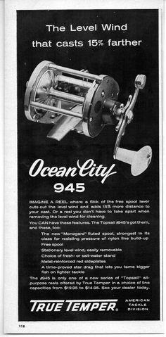 69 Best Vintage Fishing Reel Ads Images In 2019 Print Ads Print