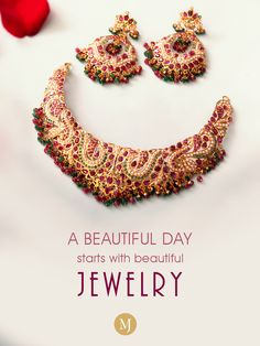 Great jewelry = great day! #MalaniJewelers Jewelry Quotes, Beautiful Day, Crochet Necklace, Jewels, Ideas, Jewerly, Gemstones, Thoughts, Fine Jewelry